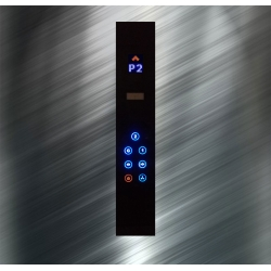 پنل لمسی یک متری کابین آسانسور طرح دارک