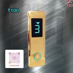 شستی احضار طبقه آسانسور مدل طرح ترک T100