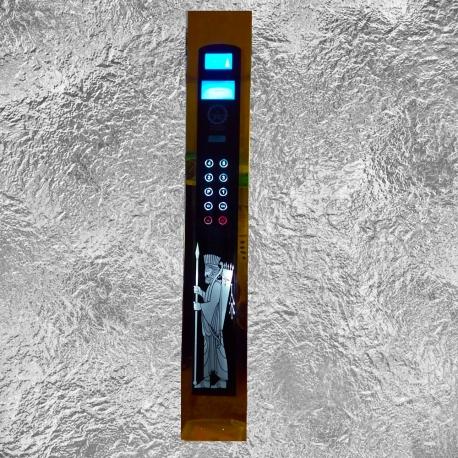 پنل شستی داخل کابین آسانسور لمسی طرح هخامنشی